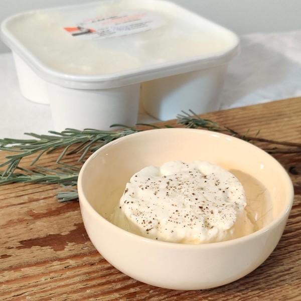 Fromage blanc en faisselle