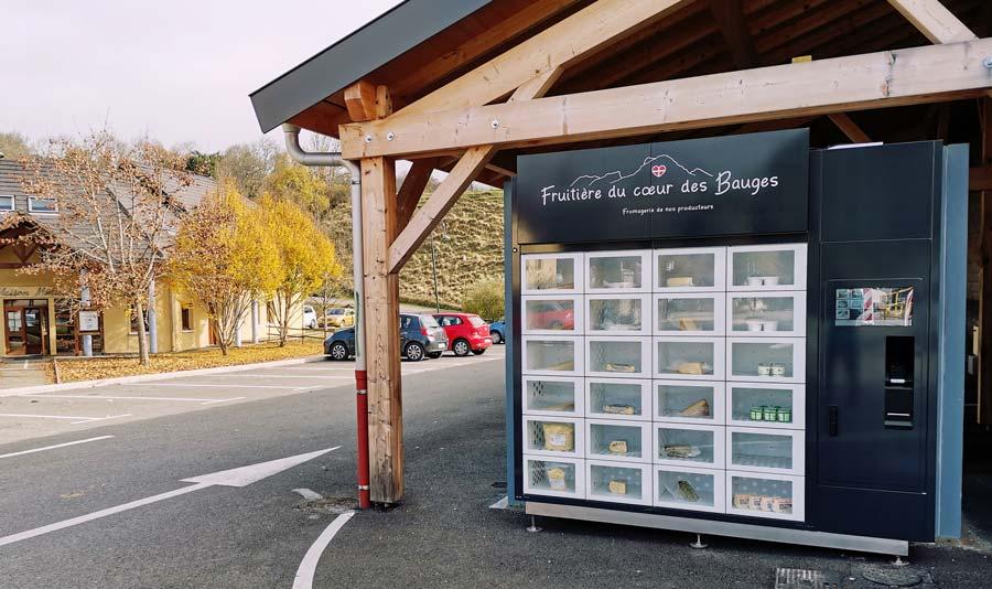 Distributeur à fromage | Fruitiere du Coeur des Bauges